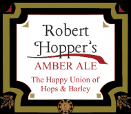 Celebration Beer Label - Hops and Barley