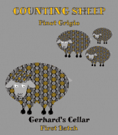 Expressions Wine Label - Counting Sheep