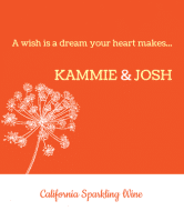 Expressions Wine Label - Wishes