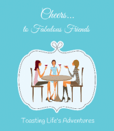 Expressions Wine Label - Fabulous Friends