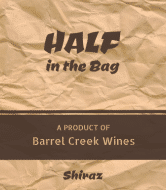 Expressions Wine Label - Brown Bag