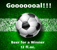 Beer Label - Goooal