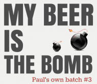 Expressions Beer Label - The Bomb