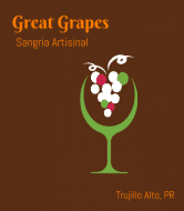 Celebration Wine Label - Great Grapes