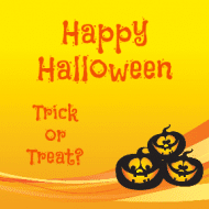 Holiday Sticker - Happy Halloween