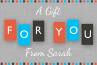 Expressions Gift Tag - For You