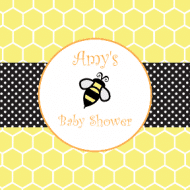 Baby Sticker - Honey Bee