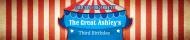 Birthday Water Bottle Label - Circus Birthday