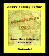Expressions Wine Label - Adventurous Red