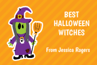 Holiday Gift Tag - Witches