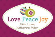 Holiday Gift Tag - Love Peace Joy