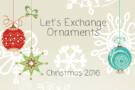 Holiday Gift Tag - Ornaments