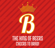 Celebration Beer Label - King of Beers