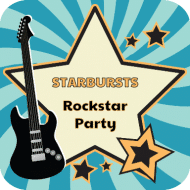 Birthday Drink Coaster - Rockstar