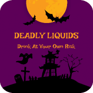 Drink Coaster - Haunted House