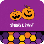 Holiday Drink Coaster - Spooky & Sweet