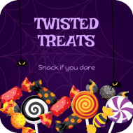 Holiday Drink Coaster - Twisted Treats