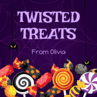 Holiday Sticker - Twisted Treats