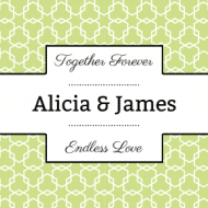 Wedding Sticker - Connect