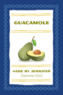 Food Label - Guacamole