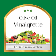 Food Label - Vinaigrette