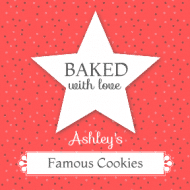 Food Label - Baked With Love