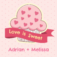 Expressions Sticker - Love is Sweet