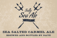 Celebration Growler Label - Salty Sea Ale