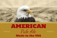 Expressions Growler Label - American Eagle
