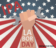 Holiday Beer Label - Labor Day