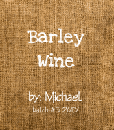 Expressions Wine Label - Barley