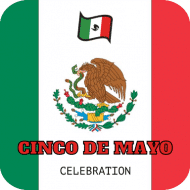 Holiday Drink Coaster - Cinco de Mayo