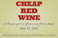 Expressions Mini Wine Label - Cheap
