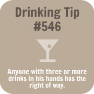 Expressions Drink Coaster - Drinking Tip #546