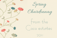 Expressions Mini Wine Label - Spring Flowers
