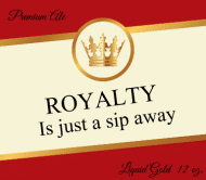 Beer Label - Crown Royalty