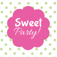 Birthday Sticker - Sweet Candy Party