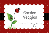 Expressions Food Label - Ladybug