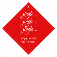 Holiday Wine Hang Tag - Jingle All the Way