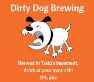 Expressions Beer Label - Dirty Dog