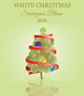 Holiday Wine Label - White Christmas