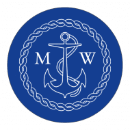 Wedding Sticker - Nautical