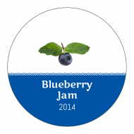Sticker - Blueberry Jam