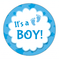 Baby Sticker - It's a Boy