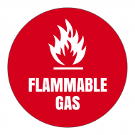 Sticker - Caution Flammable