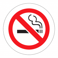 Sticker - No Smoking