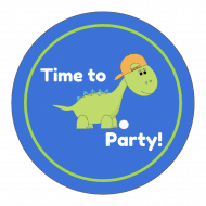 Celebration Sticker - Kids Party