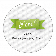 Sticker - Golf