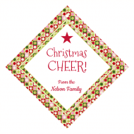 Holiday Wine Hang Tag - Cheers to Christmas