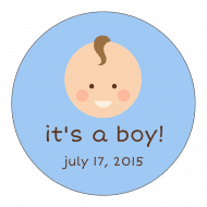 Baby Sticker - Baby Boy